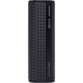 Fashionista Power Bank, 2600 mAh, Graphite Black