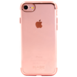 Case Invisible Electroplated Silicone Case for Apple iPhone 7/8, Pink