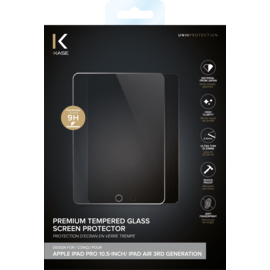 Premium Tempered Glass Screen Protector for Apple iPad Pro 10.5-inch/ iPad Air 3rd generation, Transparent