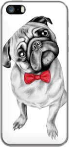 Case Percy Pug by Libby Watkins