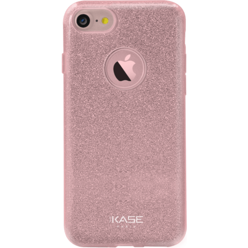 Case Sparkly Glitter Slim Case for Apple iPhone 7, Rose Gold
