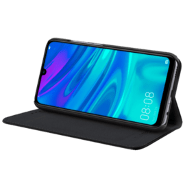 Folio flip case with card slot & stand for Huawei P Smart 2019/ P Smart+ 2019, Black