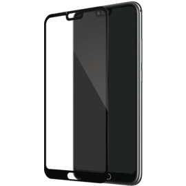 Full Coverage Tempered Glass Screen Protector for Huawei Honor 10, Black