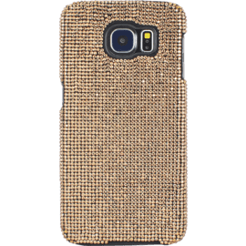 Coque pour Samsung Galaxy S6, Strass Or