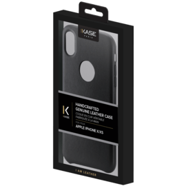 Handcrafted Genuine Leather Case for Apple iPhone X, Black