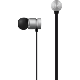 Case High-Clarity Noise Isolating In-Ear Headphones, Silver