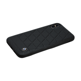 BMW Hexagon Signature case for Apple iPhone X/XS, Black