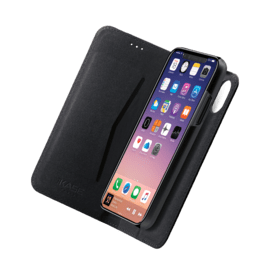 2-in-1 GEN 2.0 Magnetic Slim Wallet & Case for Apple iPhone X/XS, Black