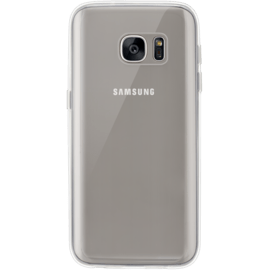Silicone Case for Samsung Galaxy S7 Edge, Transparent