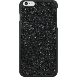 Case Coque Bling Strass pour Apple iPhone 6 Plus/6s Plus, Minuit Noir