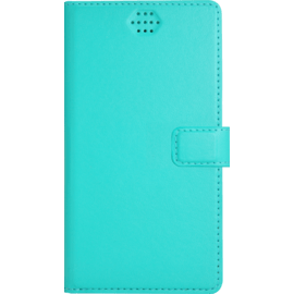 Case Universal flip case for Smartphone (up to 4.7 inch), Turquoise