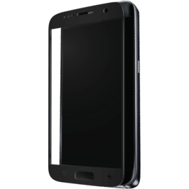Case Full Coverage Tempered Glass Screen Protector for Samsung Galaxy S7, Black