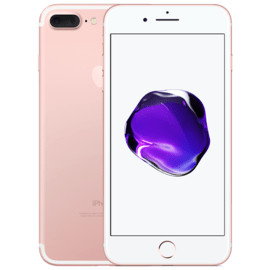 iPhone 7 Plus reconditionné 128 Go, Or rose, débloqué