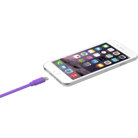 Apple MFi certified Lightning Charge/Sync Cable (1M), Royal Purple