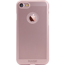Case Coque Mesh pour Apple iPhone  7, Or Rose