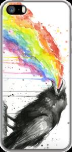 Case Raven Tastes the Rainbow by Olechka