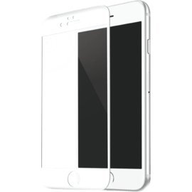 Curved Edge-to-Edge Tempered Glass Screen Protector for Apple iPhone 6/6s, White