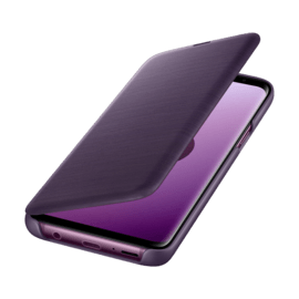 LED View cover Purple Galaxy S9