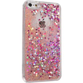 Bling Bling Glitter Case for Apple iPhone 6 Plus/6s Plus, Pink Lady