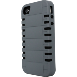 Case for Apple iPhone 4/4S, Grey Anti-shock Rebounds