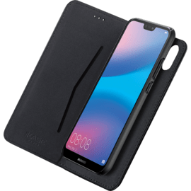 2-in-1 GEN 2.0 Magnetic Slim Wallet & Case for Huawei P20 Lite, Black