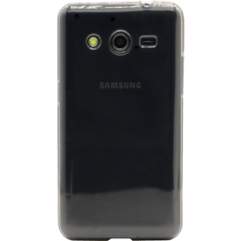 Case Silicone Case for Samsung Galaxy Core 2 G355, Transparent Grey