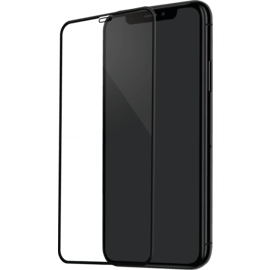 Curved Edge-to-Edge Tempered Glass Screen Protector for Apple iPhone XS Max, Black