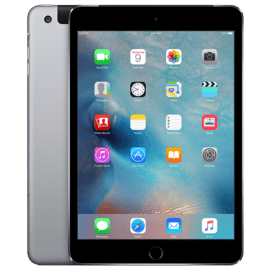 refurbished iPad mini 4 Wifi+4G 128 Gb, Space Gray