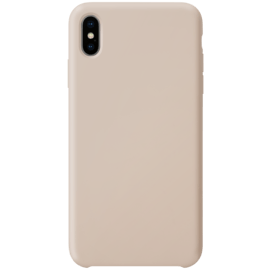 Soft Gel Silicone Case for Apple iPhone XS Max, Sandy Pink