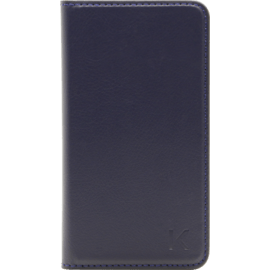 Book-type Flip case with credit card slots for Samsung Galaxy S4, Blue