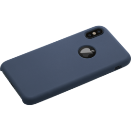Soft Gel Silicone Case for Apple iPhone X/XS, Marine Blue