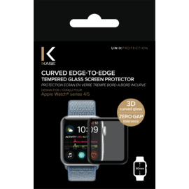 Curved Edge-to-Edge Tempered Glass Screen Protector for Apple Watch® Series 4/5 40mm