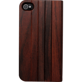 Flip case for Apple iPhone 4/4S, Natural Bois de Rosewood
