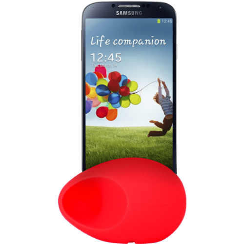 Case Egg Sound amplifier for S III & S IV, Red