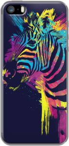 Case Zebra Splatters by Olechka