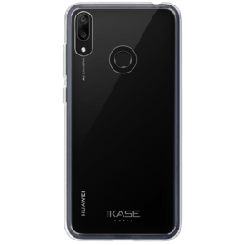 Coque hybride invisible pour Huawei Y7 2019, Transparent