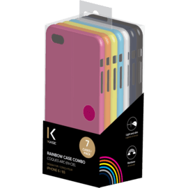 Rainbow Case Combo 7 colorful cases for Apple iPhone 6/6s