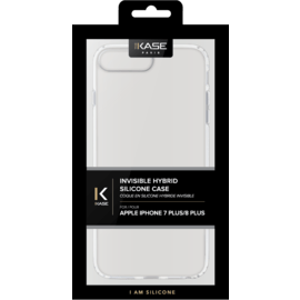 Coque hybride invisible Apple iPhone 6/6S/7/8 Plus, Transparent