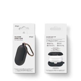 Galaxy Buds Silicon Case Black