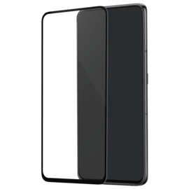 Curved Edge-to-Edge Tempered Glass Screen Protector for Samsung Galaxy A80 2019, Black