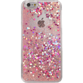 Case Bling Bling Coque Pailletée pour Apple iPhone 6 Plus/6s Plus, Pink Lady