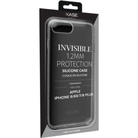 Coque slim invisible pour Apple iPhone 6/6s/7/8 Plus 1.2mm, Transparent