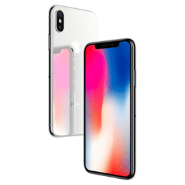 Case iPhone X 256 Go Silver