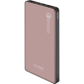 GEN 2.0 Ultra Slim PowerHouse External Battery 10 000mAh (37Wh), Rose Gold