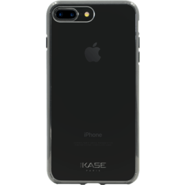 Case Coque en silicone Hybride invisible pour Apple iPhone 7 Plus/8 Plus, Black
