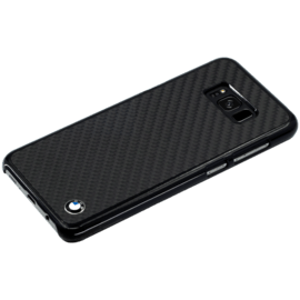 BMW Genuine Carbon case for Samsung Galaxy S8+, Black