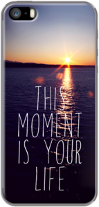 Case this moment is your life by Sylvia Cook Photography