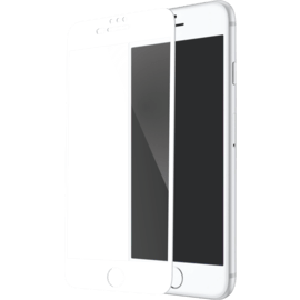 Full Coverage Tempered Glass Screen Protector for Apple iPhone 6 Plus/6s Plus/7 Plus/8 Plus, White