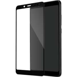 Full Coverage Tempered Glass Screen Protector for Xiaomi Redmi Note 5, Black