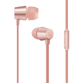 Case K In-ear Headphones, Rose Gold